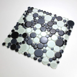 Mosaic pebble glass for floor and wall kitchen and bathroom mv-ronda