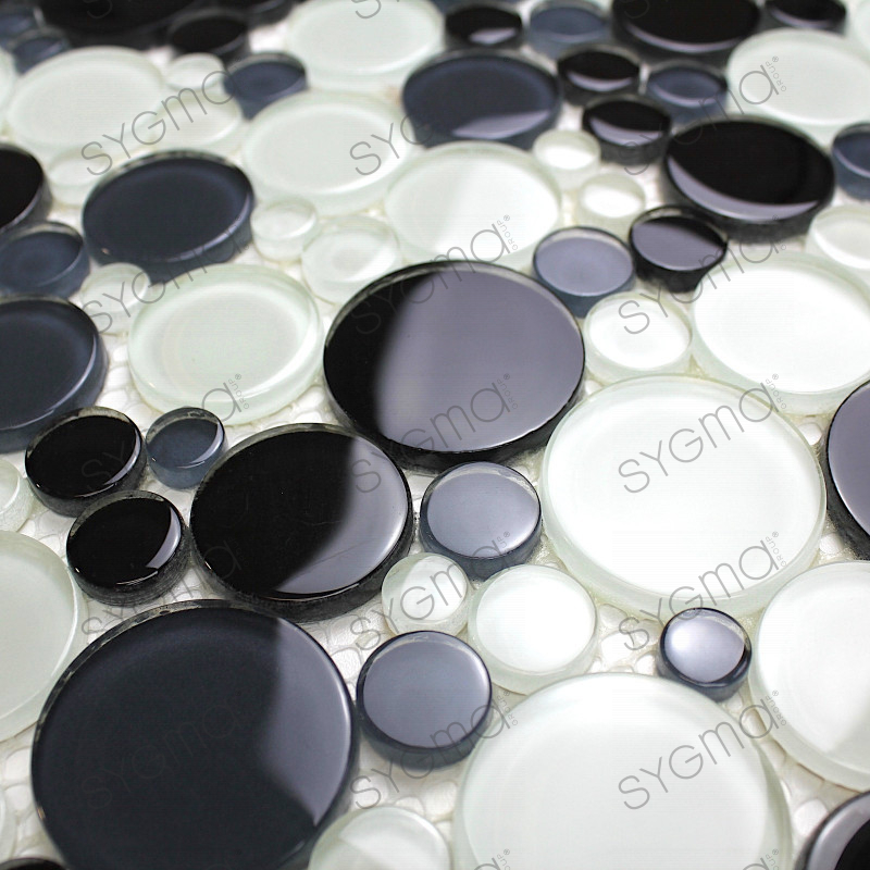 Mosaic Pebble Glass For Floor And Wall Kitchen And