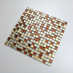 Mosaic stone and glass bathrrom and shower mvp-siam