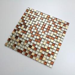 Mosaique en verre et pierre de salle de bain et douche mvp-siam