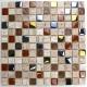 Mosaic tile wall and floor stone and glass mm-malika