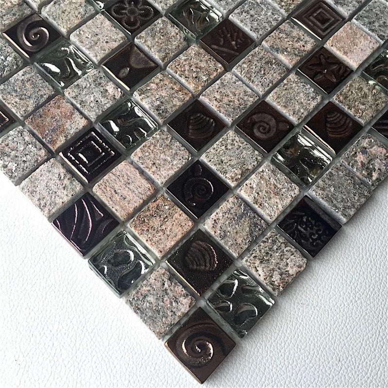 mosaique pierre quartz sol et mur douche et salle de bain mp stacka carrelage. Black Bedroom Furniture Sets. Home Design Ideas