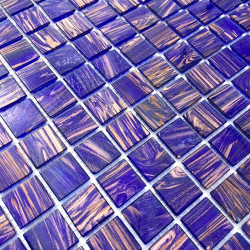 Glassmosaic wall and floor bathroom kitchen Specula Violet