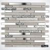 mosaico de piedra y acero mp-novak