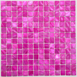 Mosaico de nacar para suelo ducha y pared bano odyssee-rose