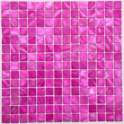 mosaique nacre salledebain sol et mur de douche odyssee-rose