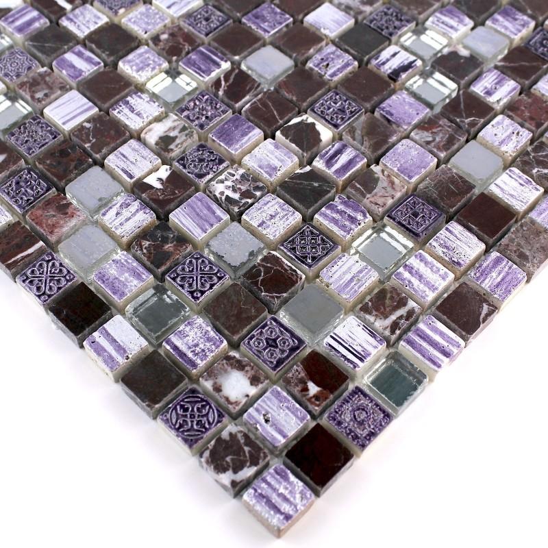 Azulejo mosaico ducha y ba o mp adel carrelage - Azulejo mosaico bano ...