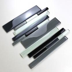 Azulejo de vidrio par pared cocina modelo mv-filio