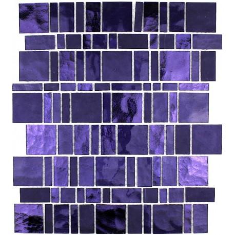 azulejo de vidrio mosaico de vidrio muro de cocina pulp-violet