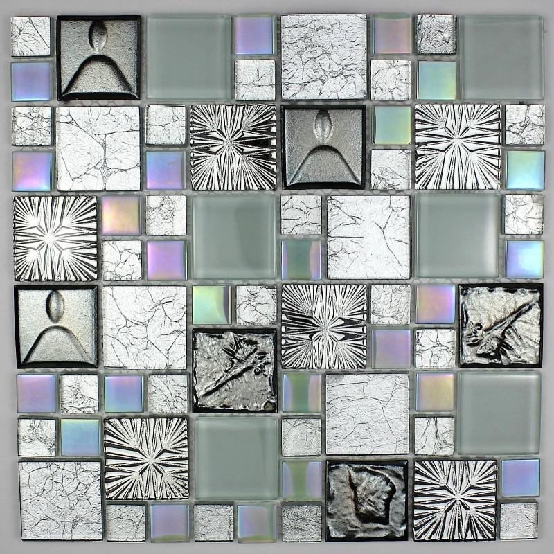Azulejo mosaico pared ba o ducha y cocina cenovo carrelage - Azulejos mosaico bano ...