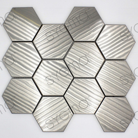 stainless mosaic tiles floor and wall lorko