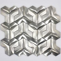 shower wall tile mosaic stainless steel kitchen and bathroom parma