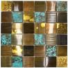 antique copper metal tile mosaic kitchen and bathroom velvet