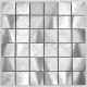 mosaique aluminium carrelage cuisine crédence alu reg 48