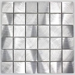 mosaic aluminum tile kitchen splashback alu reg 48