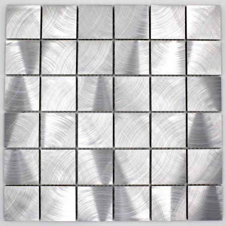 mosaico de aluminio de azulejos de la cocina alu reg 48