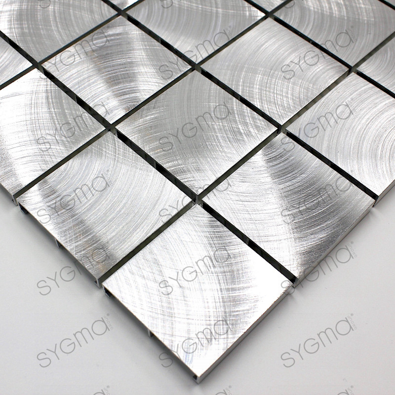 mosaique aluminium carrelage cuisine cr dence alu reg 48 carrelage. Black Bedroom Furniture Sets. Home Design Ideas