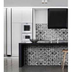 carreau imitation ciment pour sol et mur oaxaca