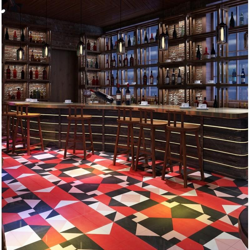 patchwork carrelage imitation ciment en ceramique fida. Black Bedroom Furniture Sets. Home Design Ideas