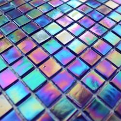 echantillon mosaique pate de verre modele mv-rainbowpetrole