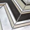 sample aluminium mosaic tile model alu-theko