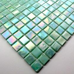 echantillon mosaique pate de verre modele mv-rainbowvert