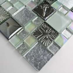sample glass and stone mosaic tile model lugano