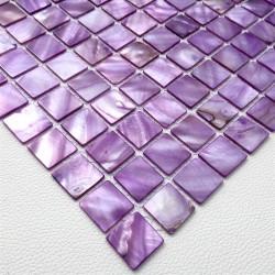 echantillon mosaique en nacre modele odyssee-violet