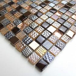 mosaique echantillon en verre modele mv-inesse