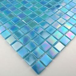 echantillon mosaique pate de verre modele mv-rainbowazur