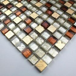 mosaique echantillon en verre et pierre modele vp-siam