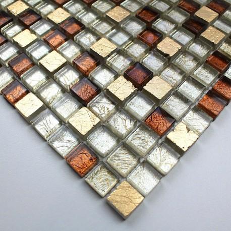 mosaico de piedra y vidrio muestra modelo vp-siam