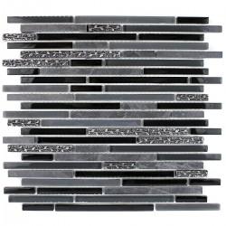 mosaico negro pared cocina y ducha mvp-bullit