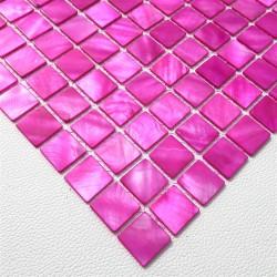 muestra azulejo mosaico de nacar suelo y pared odyssee-rose
