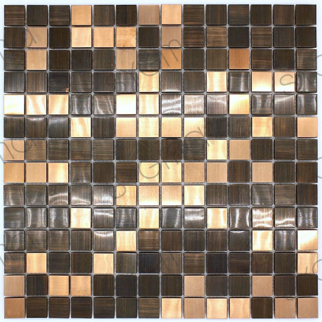 mosaic antique copper metal tile kitchen and bathroom soul