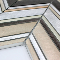 azulejo mosaico de pared aluminio cocina y bano modelo 1m-theko