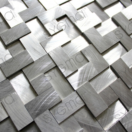 aluminium mosaic tile for wall 1m-konik