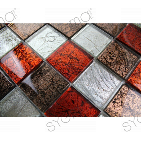 cheap mosaic tile wall kitchen and bathroom 1m-lux-rouge
