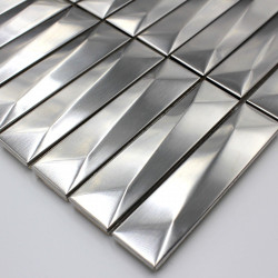 sample mosaic tile metal stainless ech-in-chola