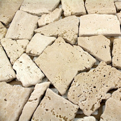 carrelage bac a douche antiderapant en pierre 1m-sigma-beige