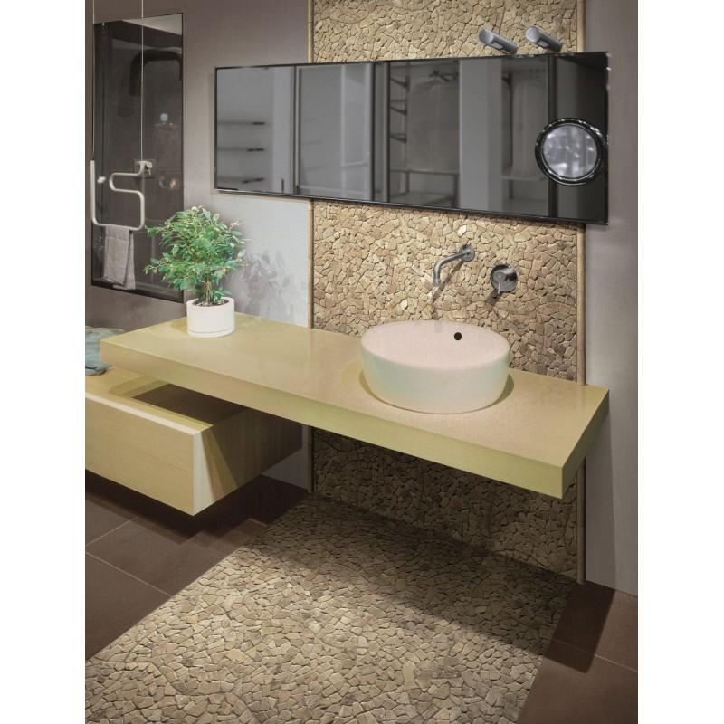 Suelo de ducha de piedra antideslizante 1m sigma beige - Suelo antideslizante ducha ...