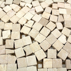 suelo de ducha antideslizante mosaico de piedra 1m-lulli-beige