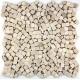 mosaic stone anti-slip shower tray 1m-lulli-beige