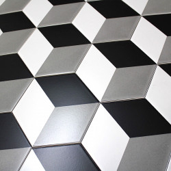 Patchwork tile imitation cement cim-cube