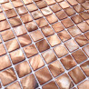 mother of pearl mosaic floor and wall 1m-odyssee-marron