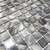 floor walkin shower mosaic and wall bathroom shell 1m-odyssee-gris