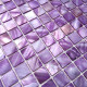 floor walkin shower mosaic and wall bathroom shell 1m-odyssee-violet