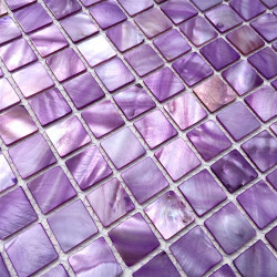 floor walkin shower mosaic and wall bathroom shell 1m-odyssee-violet