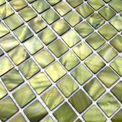 mosaique de nacre en douche et salle de bain 1m-odyssee-vert