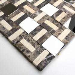 azulejo muestra mosaico de piedra modelo mp-lotta